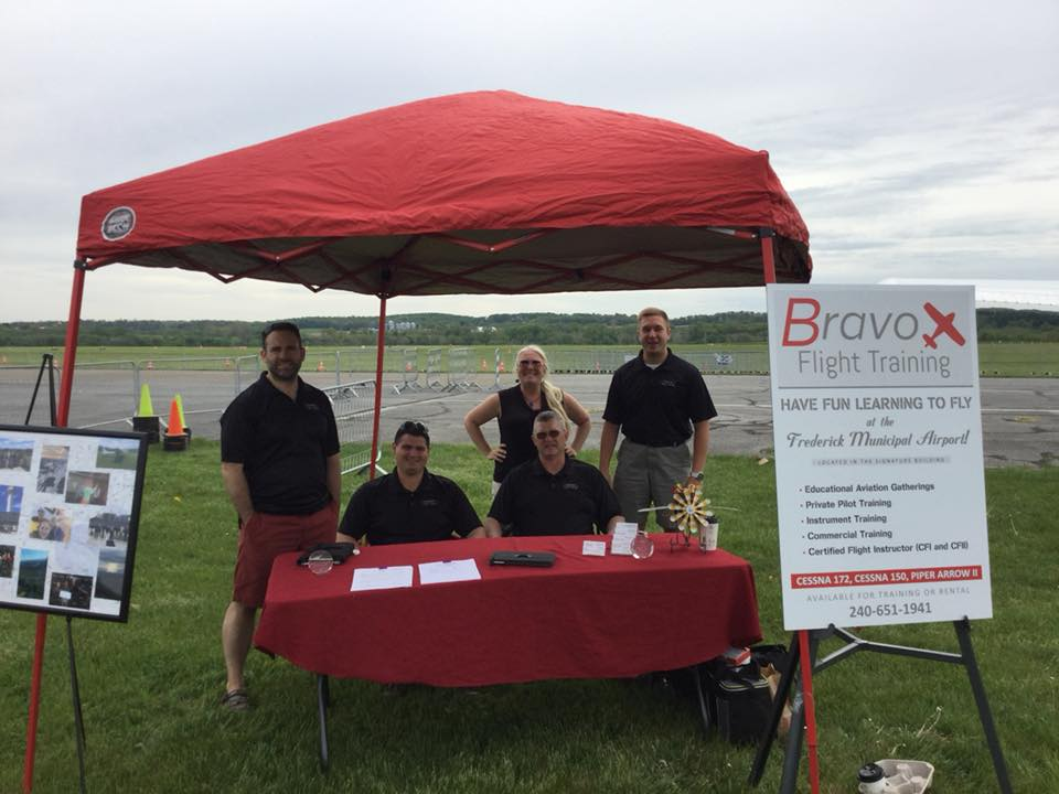 Bravo Team at Wings and Wheels 2018