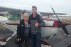 Peter earning Instrument Rating