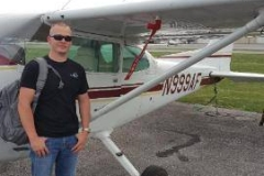 Justin H first solo!